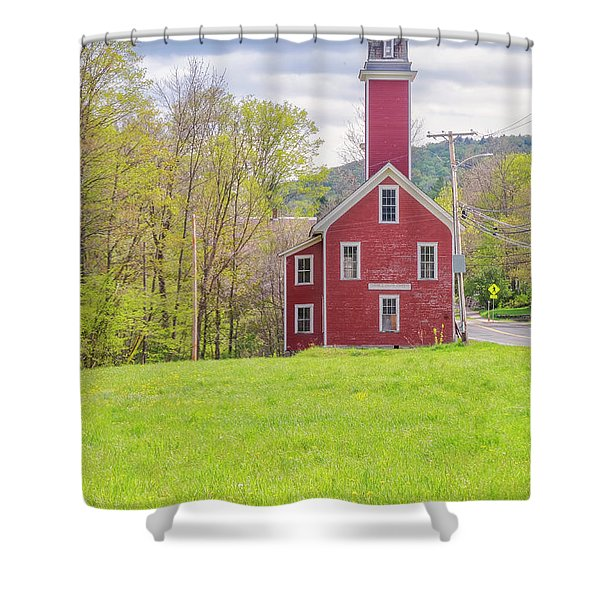 Yosemite Engine Company II Shower Curtain