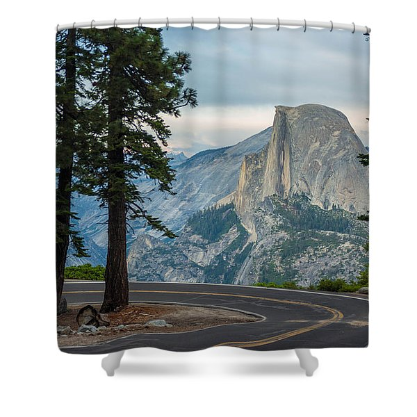 Yosemite Glacier Point Shower Curtain