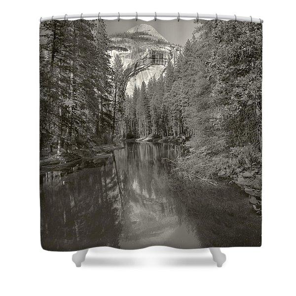 Yosemite Hike  Pictorial Shower Curtain