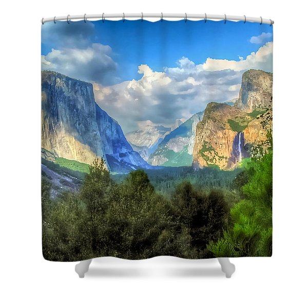 Yosemite Valley Shower Curtain