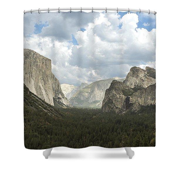 Yosemite Valley Yosemite National Park Shower Curtain