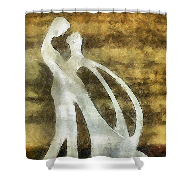You And I 1 Shower Curtain