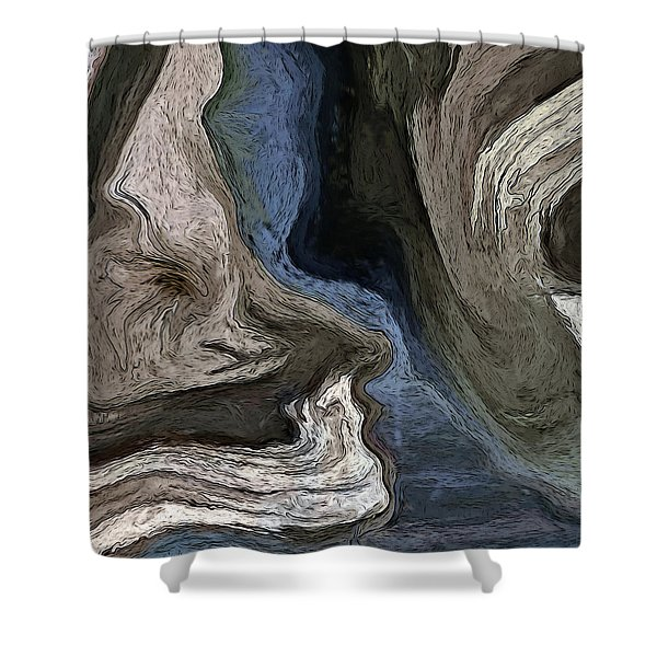 You And Me Shower Curtain