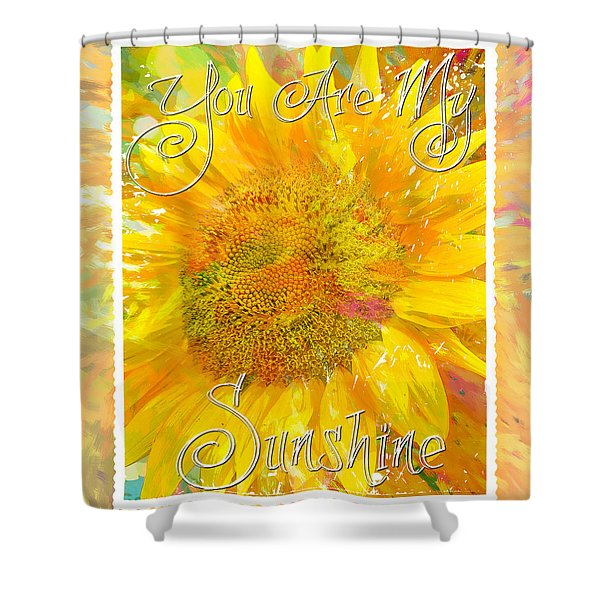 You Are My Sunshine 2 Shower Curtain