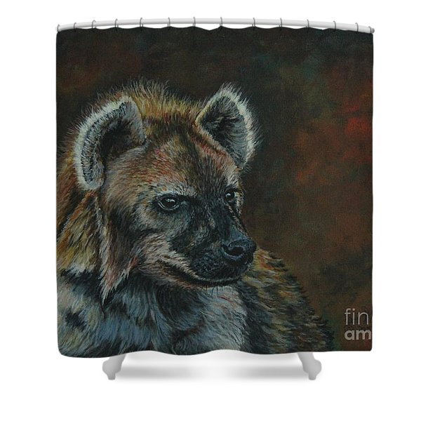You Don't See Me Laughing......hyena Shower Curtain