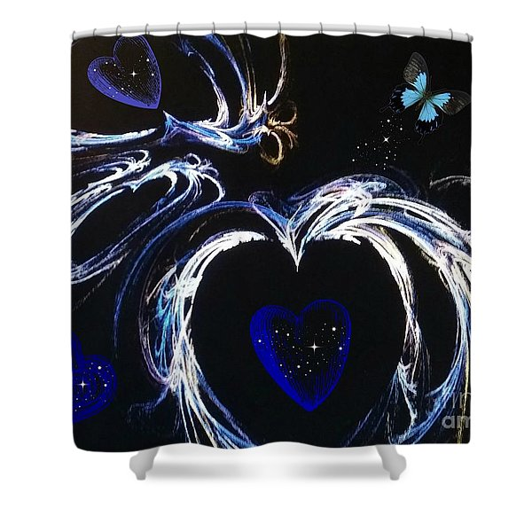 You Gave My Heart Wings Shower Curtain