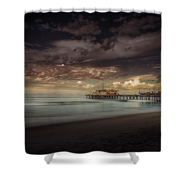 Enchanted Pier Shower Curtain