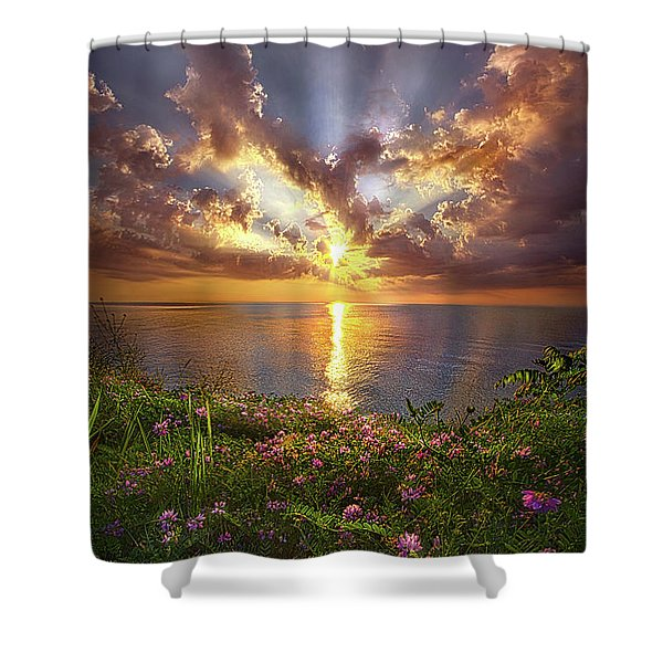 You Sing To My Spirit Shower Curtain
