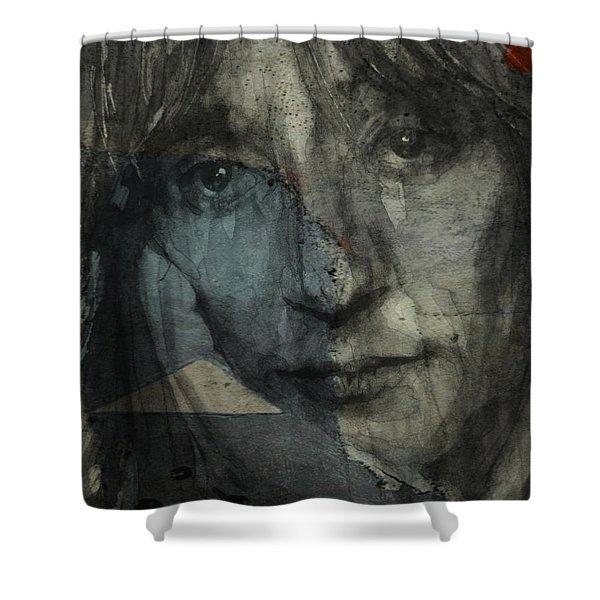 You Wear It Well - Rod Stewart  Shower Curtain