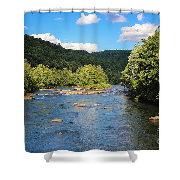 Youghiogheny River Shower Curtain