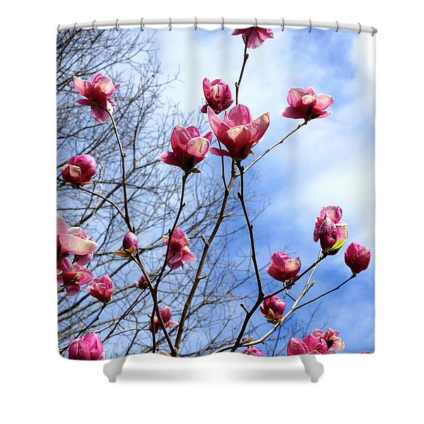 Young Blooms Shower Curtain