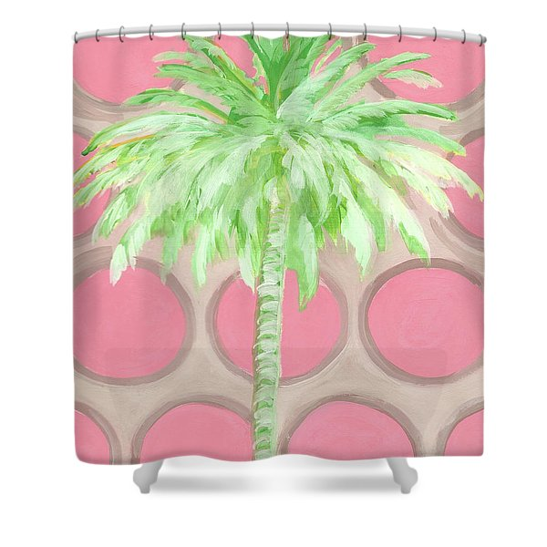 Your Highness Palm Tree Shower Curtain