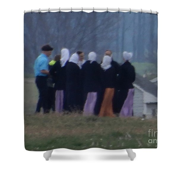 Youth Group Shower Curtain