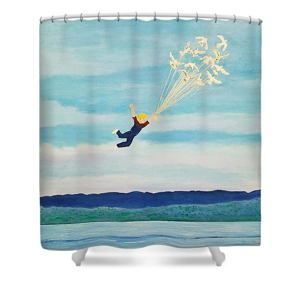 Youth Is Fleeting Shower Curtain