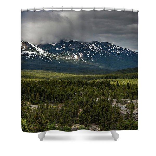 Yukon Wilderness Shower Curtain
