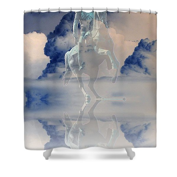Yury Bashkin The Reflection Of The Emperor Shower Curtain