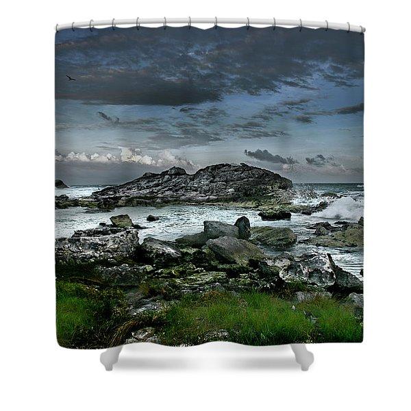 Zamas Beach #14 Shower Curtain
