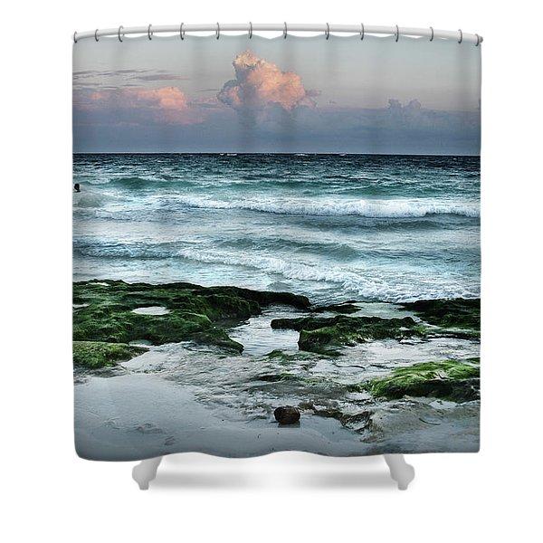 Zamas Beach #7 Shower Curtain