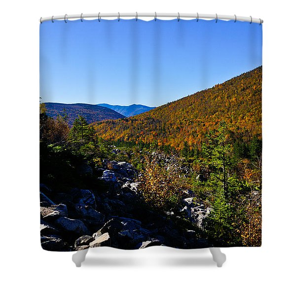 Zealand Notch Shower Curtain