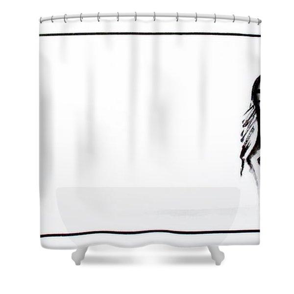 Zebra3 Shower Curtain