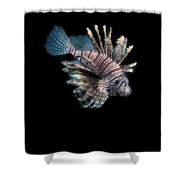 Zebrafish Shower Curtain