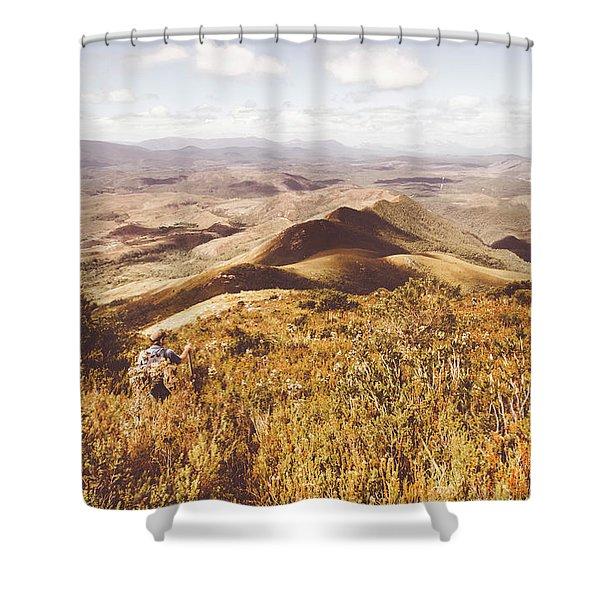 Zeehan Tasmania Shower Curtain