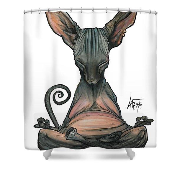 Zeljeznjak 3333 Shower Curtain