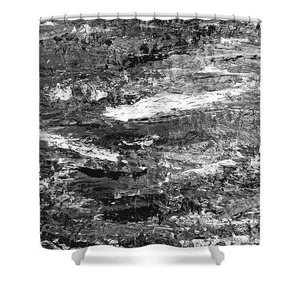 Zen Abstract A723b Shower Curtain