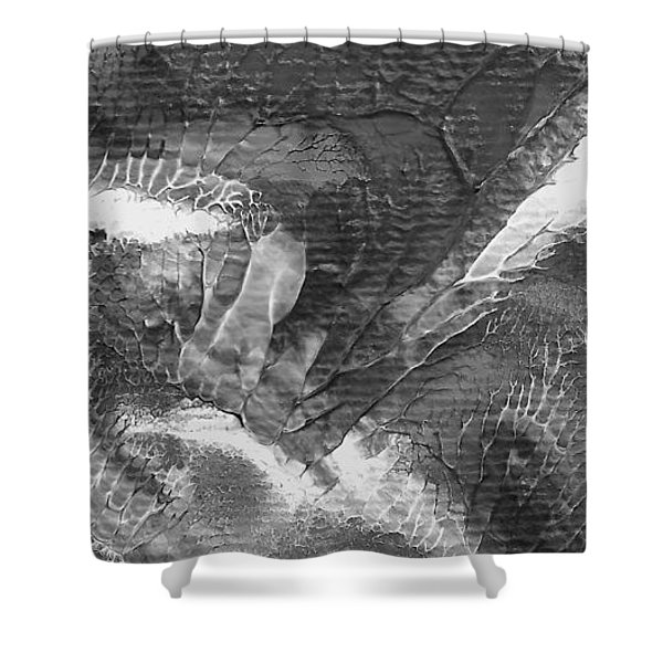 Zen Abstract A10115ajpg Shower Curtain