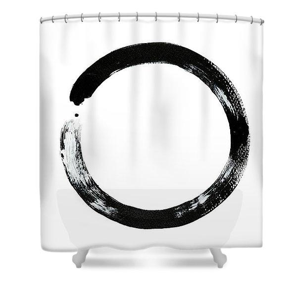 Zen Circle Shower Curtain