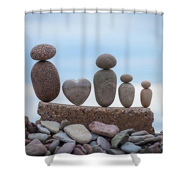 Zen Family Shower Curtain