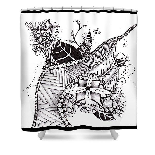 Zen Garden Shower Curtain