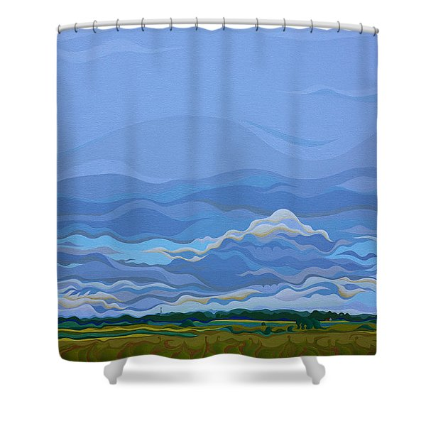 Zen Sky Shower Curtain