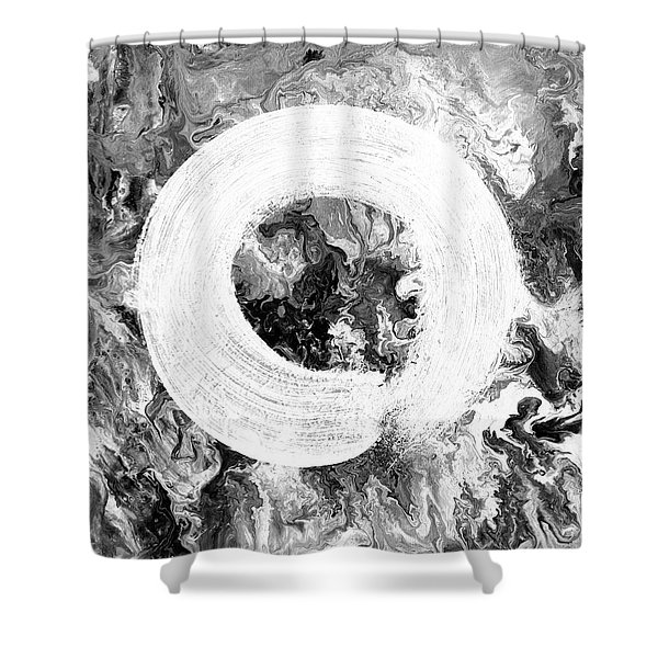 Zen Universe Shower Curtain