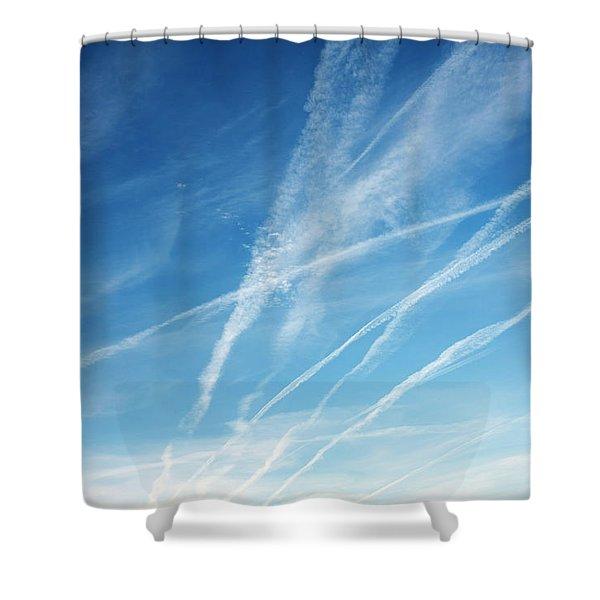 Zephyrus Shower Curtain