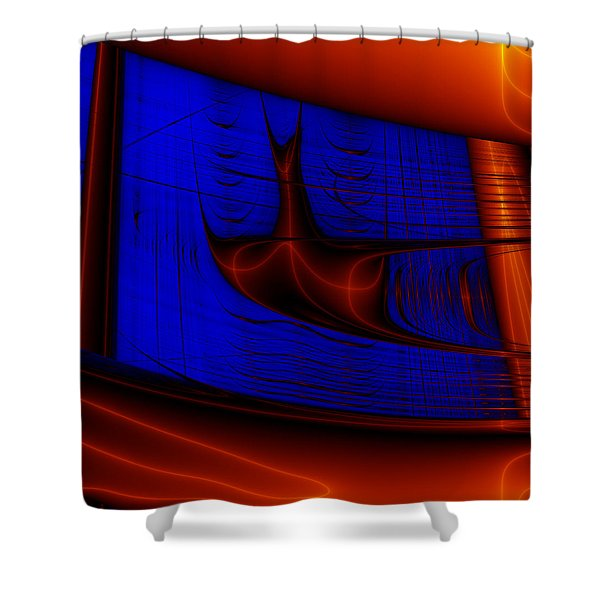 Zestbackle Shower Curtain