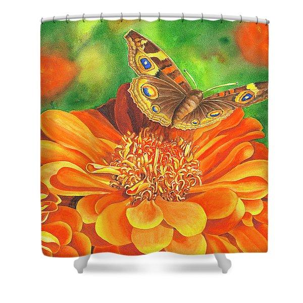 Zinnia Runway Shower Curtain