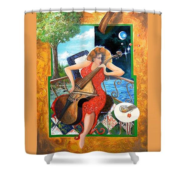 Zoraida Shower Curtain