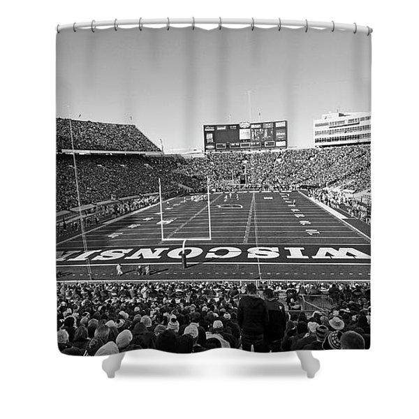 0095 Bw Camp Randall Stadium Shower Curtain