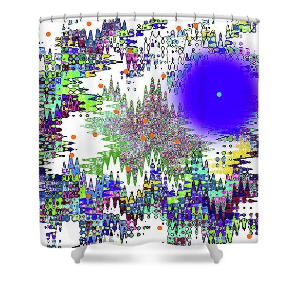 12-10-2008zabcdefg Shower Curtain