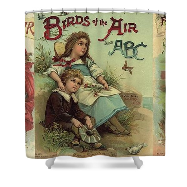 1 Abc Book Covers For Mugs Shower Curtain
