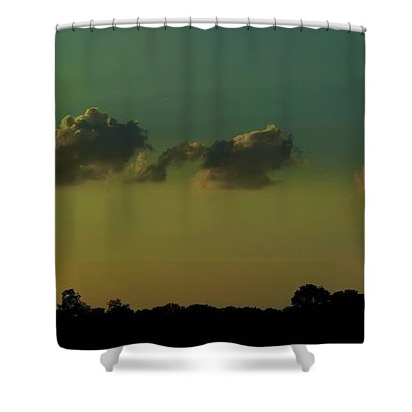 All In A Row Shower Curtain