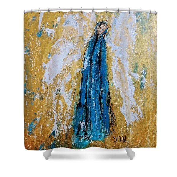 Angel Of Sympathy Shower Curtain