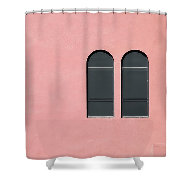 Asymmetry Shower Curtain