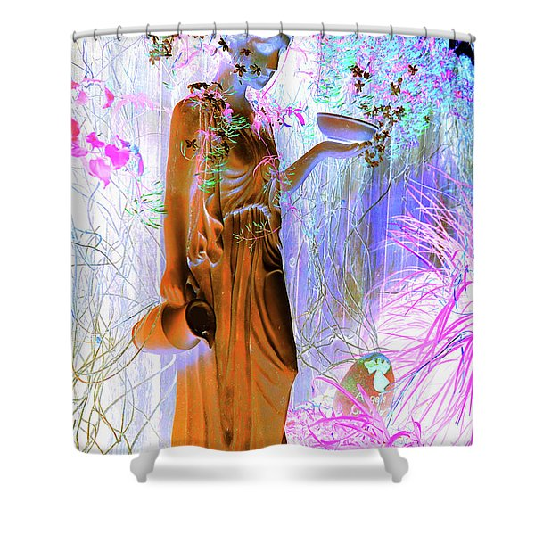 Awaiting For Your Return Shower Curtain