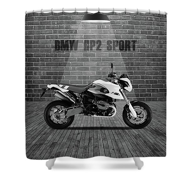 Bmw Hp2 Sport Red Wall Shower Curtain