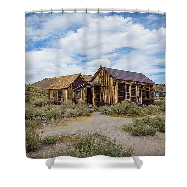 Bodie California Shower Curtain