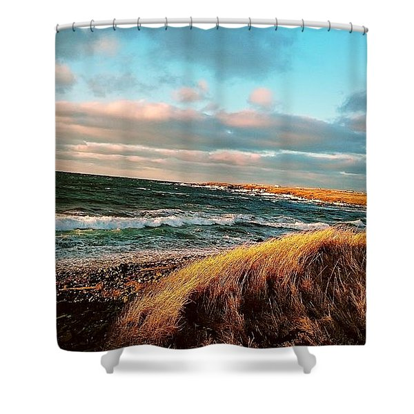 Bonavista Bay Shower Curtain