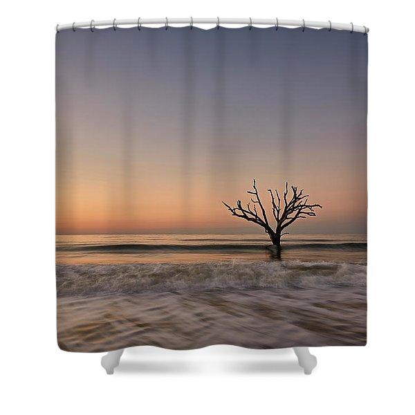 Botany Bay Tree Shower Curtain