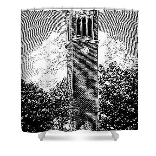 Campanile 1928 Shower Curtain